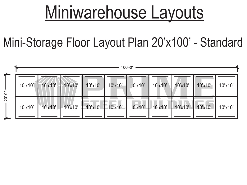 Free S&le Mini Storage Layouts  sc 1 st  Prime Steel Buildings Logo & Prime Steel Buildings: Mini warehouse self storage buildings