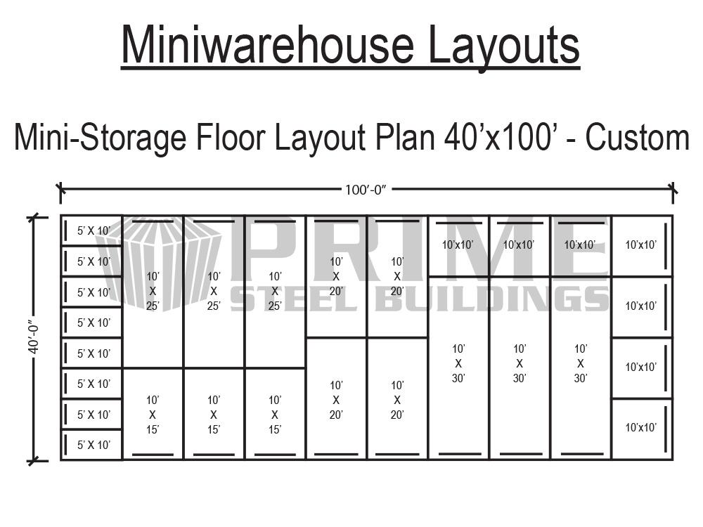 Prime Steel Buildings Mini Warehouse Self Storage Buildings